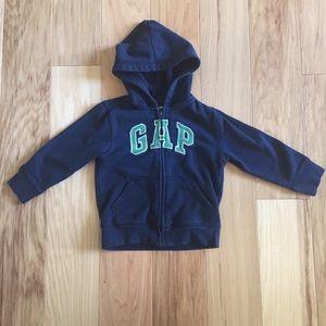 Gap boys zip up hoodie